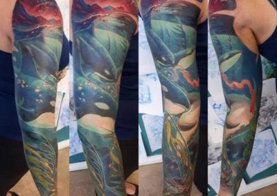 Adrian Kalyn Edmonton Tattoo Artist